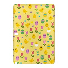 Easter - chick and tulips Samsung Galaxy Tab Pro 10.1 Hardshell Case