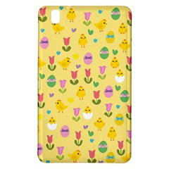 Easter - chick and tulips Samsung Galaxy Tab Pro 8.4 Hardshell Case