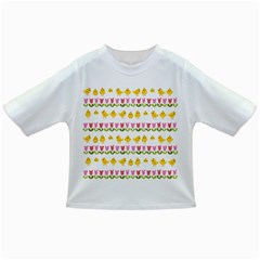 Easter - chick and tulips Infant/Toddler T-Shirts
