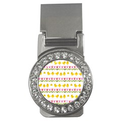Easter - chick and tulips Money Clips (CZ)