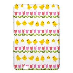 Easter - chick and tulips Kindle Fire HD 8.9