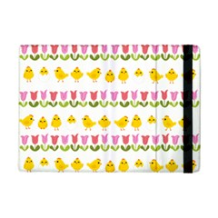Easter - chick and tulips iPad Mini 2 Flip Cases