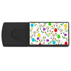 Easter lamb USB Flash Drive Rectangular (1 GB)