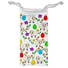 Easter lamb Jewelry Bag