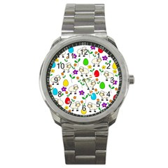Easter lamb Sport Metal Watch