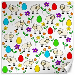 Easter lamb Canvas 16  x 16
