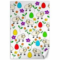 Easter lamb Canvas 20  x 30