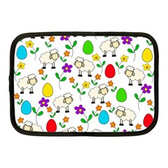 Easter lamb Netbook Case (Medium)