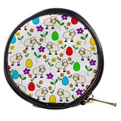 Easter lamb Mini Makeup Bags