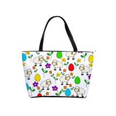 Easter lamb Shoulder Handbags