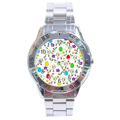 Easter lamb Stainless Steel Analogue Watch