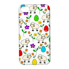 Easter lamb Apple iPhone 4/4S Hardshell Case with Stand