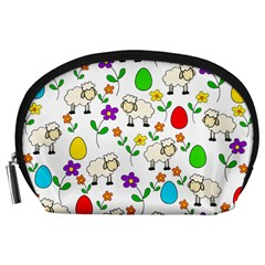 Easter lamb Accessory Pouches (Large)