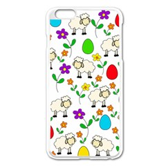 Easter lamb Apple iPhone 6 Plus/6S Plus Enamel White Case