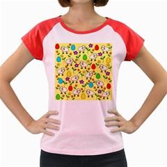 Easter lamb Women s Cap Sleeve T-Shirt