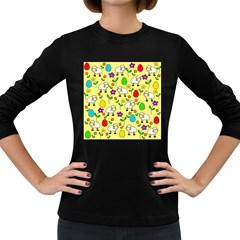 Easter lamb Women s Long Sleeve Dark T-Shirts