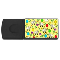 Easter lamb USB Flash Drive Rectangular (4 GB)