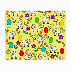 Easter lamb Small Glasses Cloth (2-Side)