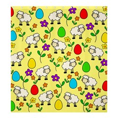 Easter lamb Shower Curtain 66  x 72  (Large)