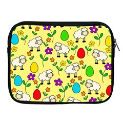 Easter lamb Apple iPad 2/3/4 Zipper Cases