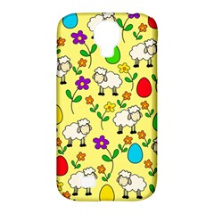 Easter lamb Samsung Galaxy S4 Classic Hardshell Case (PC+Silicone)