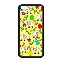 Easter lamb Apple iPhone 5C Seamless Case (Black)
