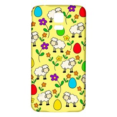 Easter lamb Samsung Galaxy S5 Back Case (White)