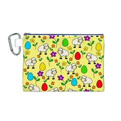 Easter lamb Canvas Cosmetic Bag (M)