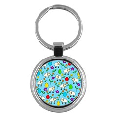 Easter lamb Key Chains (Round)