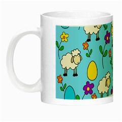 Easter lamb Night Luminous Mugs