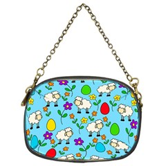 Easter lamb Chain Purses (One Side)