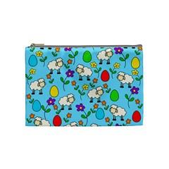 Easter lamb Cosmetic Bag (Medium)
