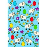 Easter lamb 5.5  x 8.5  Notebooks Back Cover