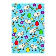Easter lamb Shower Curtain 48  x 72  (Small)