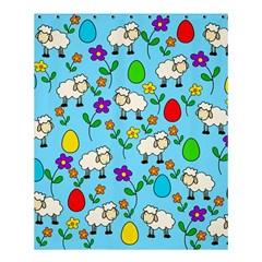 Easter lamb Shower Curtain 60  x 72  (Medium)