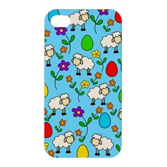 Easter lamb Apple iPhone 4/4S Hardshell Case