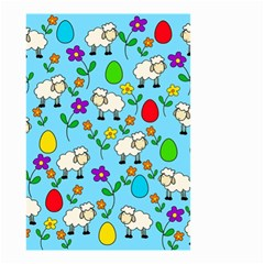 Easter lamb Small Garden Flag (Two Sides)