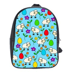 Easter lamb School Bags (XL)