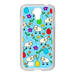 Easter lamb Samsung GALAXY S4 I9500/ I9505 Case (White)