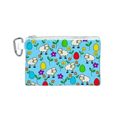 Easter lamb Canvas Cosmetic Bag (S)