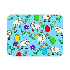 Easter lamb Double Sided Flano Blanket (Mini)