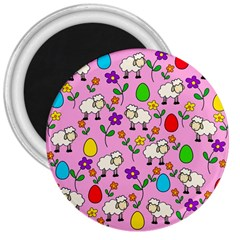 Easter lamb 3  Magnets