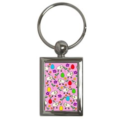 Easter lamb Key Chains (Rectangle)