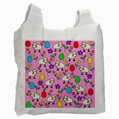 Easter lamb Recycle Bag (Two Side)
