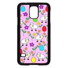 Easter lamb Samsung Galaxy S5 Case (Black)