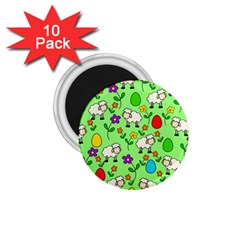 Easter lamb 1.75  Magnets (10 pack)