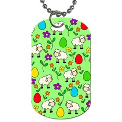 Easter lamb Dog Tag (Two Sides)