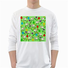 Easter lamb White Long Sleeve T-Shirts