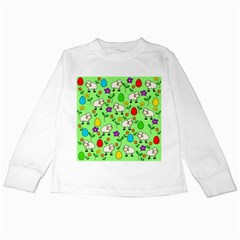 Easter lamb Kids Long Sleeve T-Shirts
