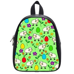 Easter lamb School Bags (Small)